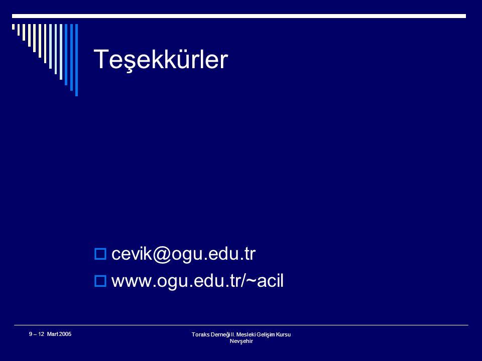 Toraks Derneği II. Mesleki Gelişim Kursu Nevşehir 9 – 12 Mart 2005 Uygulamadan kalkan... Neredeyse kalkacak olan...  Hipertansif hastalar için Nifedi