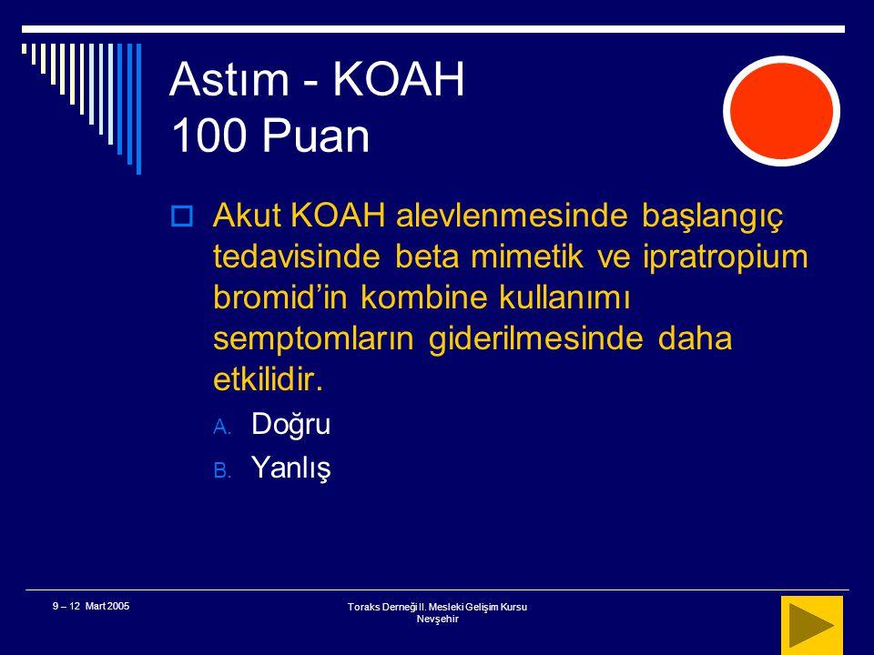 Toraks Derneği II.