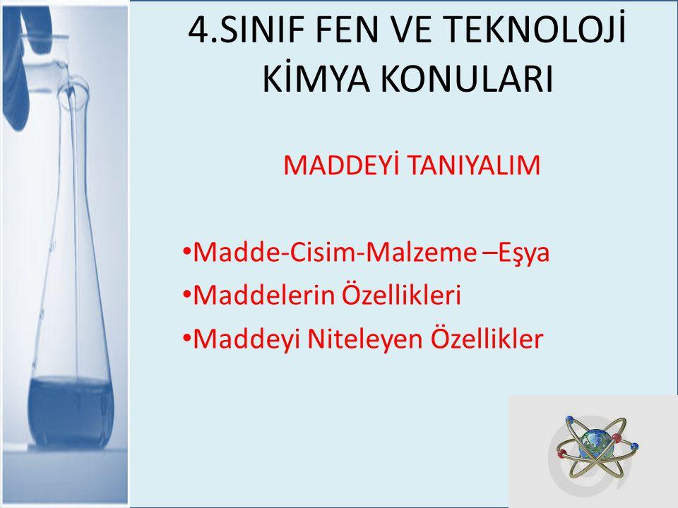 Madde-Cisim-Malzeme-Eşya Evimizde, okulumuzda ve çevremizde bir çok madde ve bu maddelerden yapılmış çeşitli eşyalar görürüz.