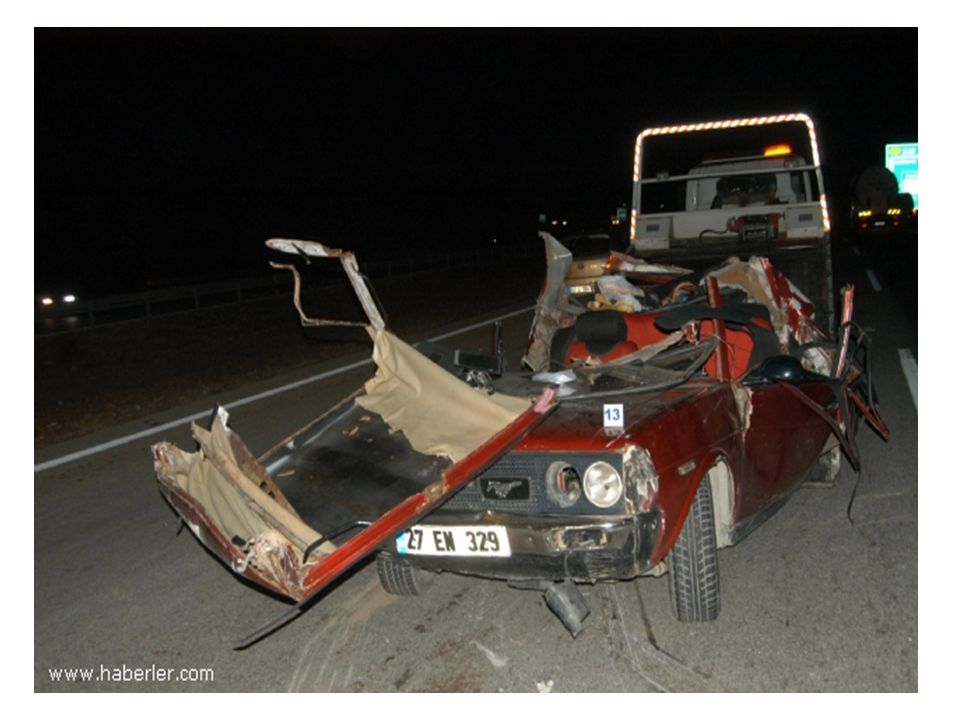 Ayrıca uzun süre araç kullanınca 60 yaş ve üzerindeki sürücülerin kaza yapma riskleri artmaktadır.