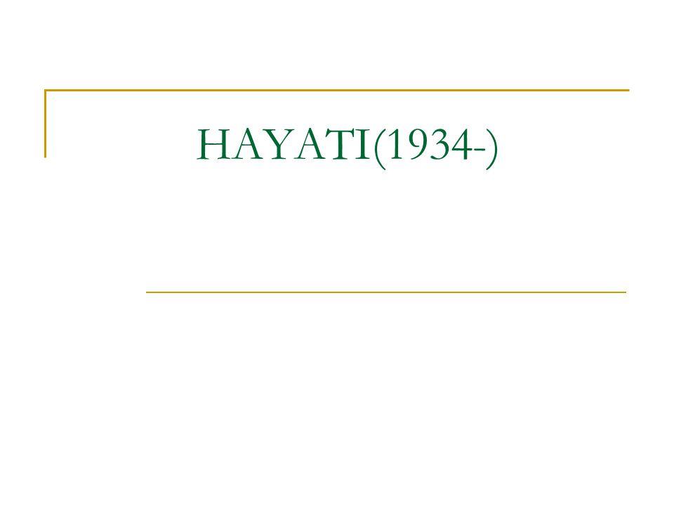 HAYATI(1934-)