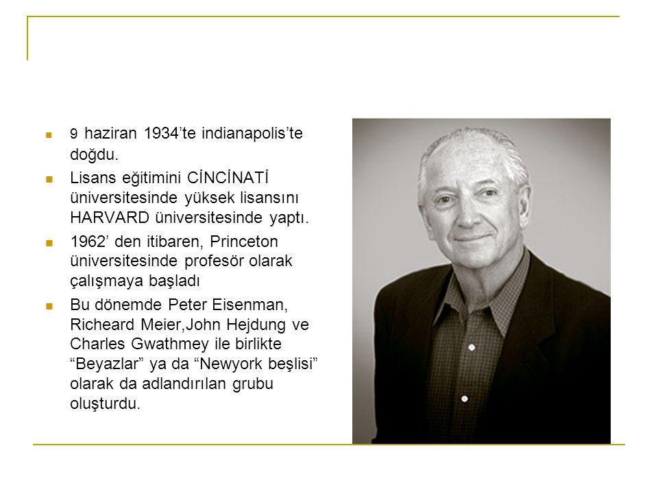 Graves 1964 yılında, kendi mimarlık firması, Michael Graves & Associates'i kurdu.