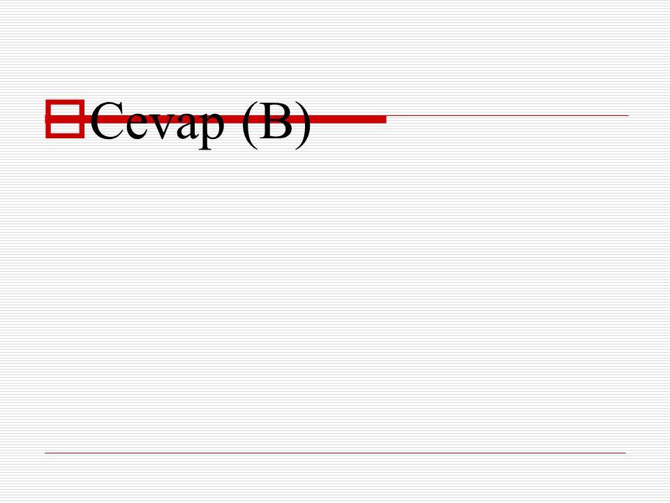 Soru 27  Aşağıdaki cümlelerin hangisinde ünsüz yumuşamasına ( ünsüz değişmesine) uğrayan bir sözcük yoktur.