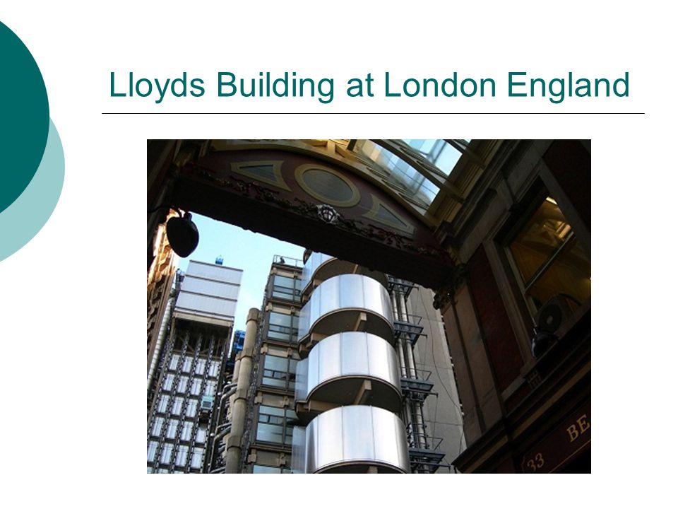 Lloyds Building at London England