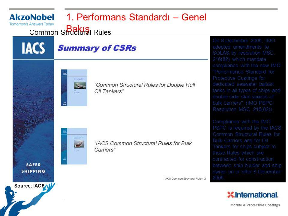 Marine & Protective Coatings Toz seviyesi ölçümü-tape test metodu ile 5.
