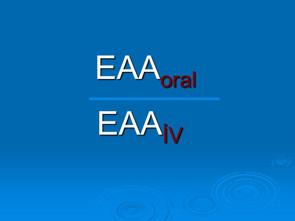 EAA oral EAA İV
