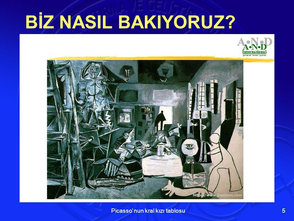 BİZ NASIL BAKIYORUZ? Picasso' nun kral kızı tablosu 5