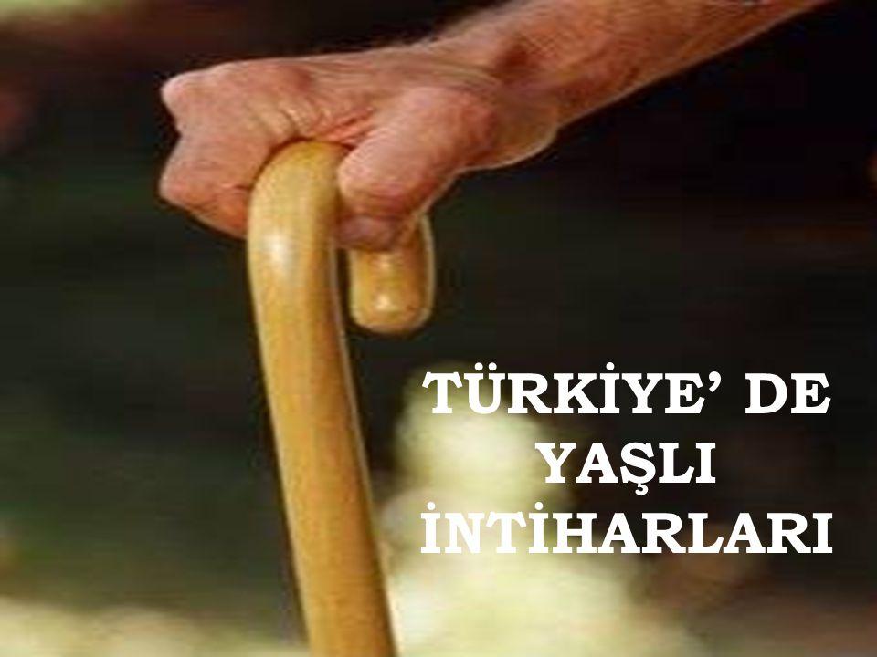 Yapılan son sayımda elde edilen verilere göre Türkiye' de 70 milyon 586 bin 256 kişi yaşamakta ve bunların % 7.1' i 65 ve daha yukarı yaş grubundadır.
