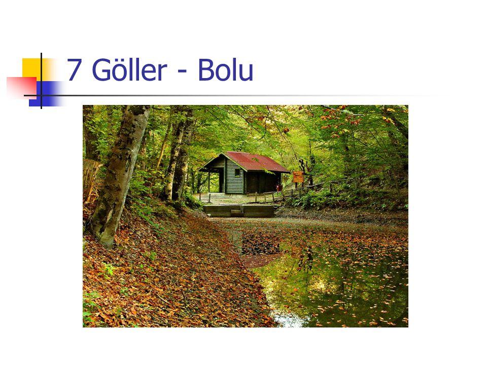 7 Göller - Bolu ZDF©Can ÇETİN
