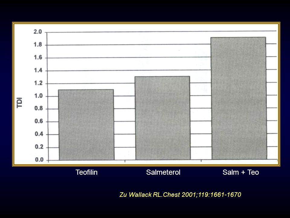TeofilinSalmeterolSalm + Teo Zu Wallack RL.Chest 2001;119:1661-1670