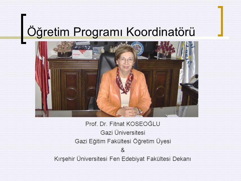 Türk Milli Eğitiminin Genel Amaçları 1.