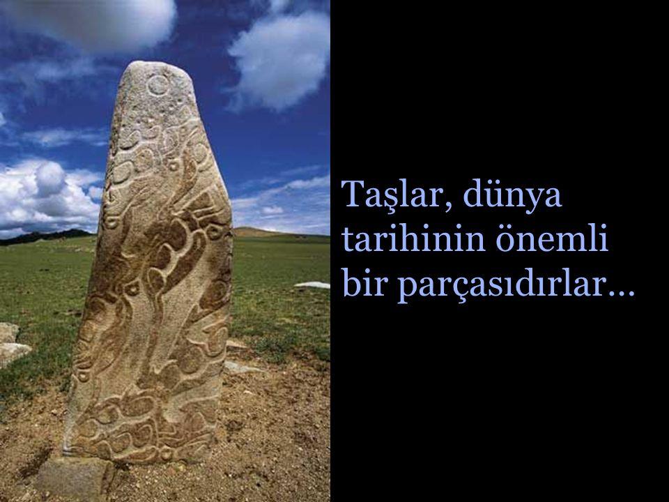 Sadece bu taşlar diğer taşların aksine günden güne büyüyorlar…