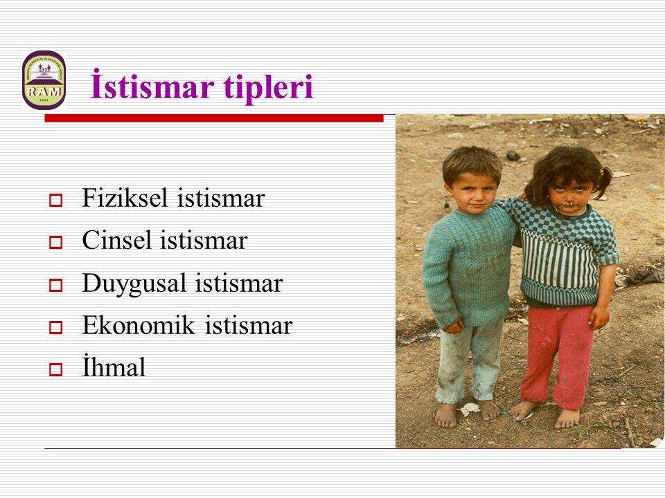 Ergenlik öncesi (0-18 y) Kız çocuklarının %25'i, Erkek çocuklarının %15 i % 10 kadınlarca 1/3 açığa çıkarılabilmekte