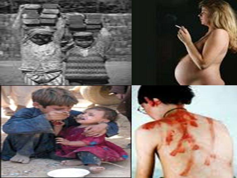47 TEHLİKE ALTINDA OLAN ÇOCUKLAR 1-Bir yetişkinin koruma ve bakımı altında olmayan çocuklar —anne babası ölmüş çocuklar —anne baba tarafından terkedilmiş çocuklar 2-İhmal edilen ve toplumsal tehlikelere, suça ve kötü alışkanlıklara karşı korumasız bırakılan çocuklar —sokak çocukları —suç örgütlerince kullanılan ve fuhuşa sürüklenen çocuklar