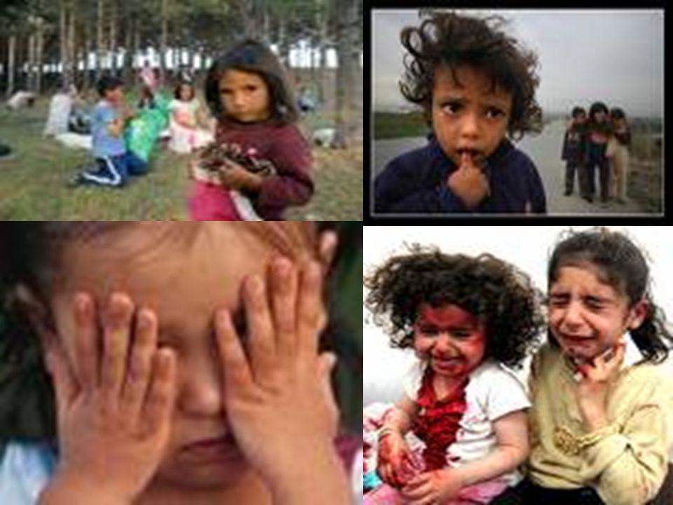 48 TEHLİKE ALTINDA OLAN ÇOCUKLAR 3-İstismar edilen çocuklar 4-Savaş ve terör ortamında bulunan çocuklar 5-Hayatta kalabilmesi için gerekli ihtiyaçların karşılanmasından yoksun bırakılan çocuklar (sağlık, eğitim, bakım ve barınma) 6-İşkence, zulüm ve insan onuruna aykırı davranışlara maruz kalan çocuklar 7-Yaşamakta olduğu ülkede yasal ve idari engel bulunan azınlıklara mensup çocuklar 8-Mülteci çocuklar