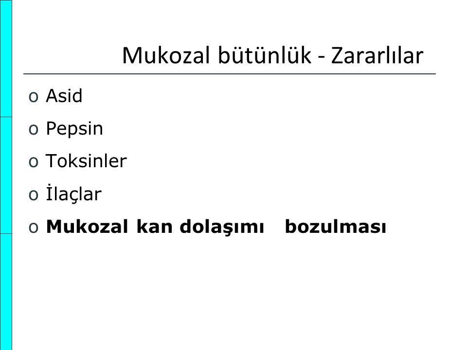 Üst Gastrointestinal Kanama Nedenleri oMide ülseri oDuodenal ülser oÖzofagus varisleri oMallory Weiss yırtığı oMide erozyonları – gastropati oÖzofajit oKameron lezyonu (herni poşunda ülser) oDieulafoy lezyonu oTelengiektaziler oPortal gastropati oGastrik varisler oNeoplazmlar oÖzofagus ülseri oErozif duodenit oAortaenterik fistül