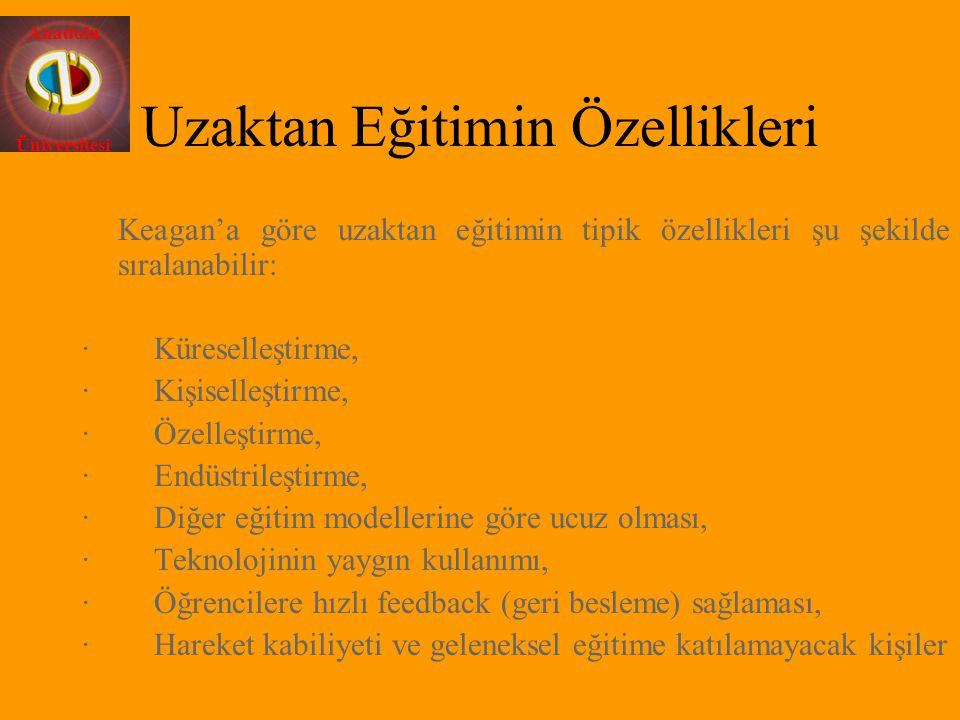 Anadolu Üniversitesi EĞİTİM PLANLAMA İLETİŞİM (*) Sistem Yöneticisi tanımları verilen diğer Kullanıcı 3.