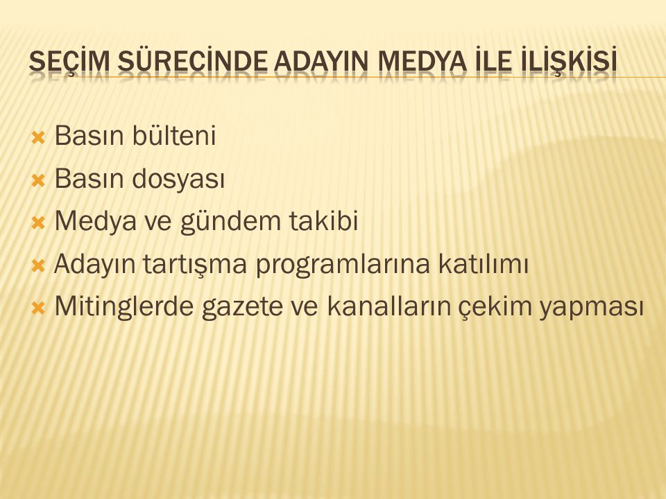 Ben seçim sonuçlarını Burdur'un Tefenni ilçesinde inceledim.