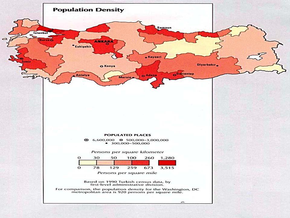 NÜFUS : Belli bir yerde yaşayan insan sayısına denir