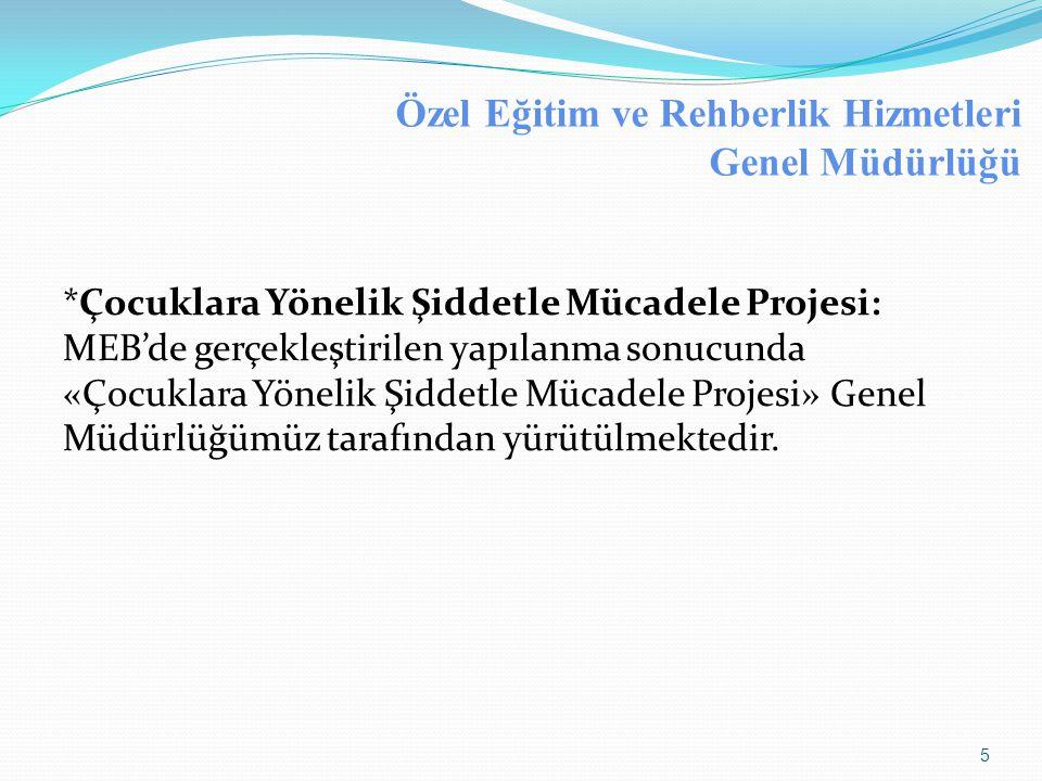 TUBİM'le İşbirliğinde Yürütülen Çalışmalar  İçişleri Bakanlığı Kaçakçılık ve Organize Suçlarla Mücadele Daire Başkanlığı(KOM) bünyesinde bulunan Türkiye Uyuşturucu ve Uyuşturucu Bağımlılığı İzleme Merkezi(TUBİM) tarafından koordinasyonu sağlanan Avrupa Uyuşturucu ve Uyuşturucu Bağımlılığı İzleme Merkezi (EMCDDA)'ne tam üyelik sürecinde ve diğer çalışmaların yürütülmesinde MEB'in kurumsal temas noktası görevi halen tarafımızca yürütülmektedir.