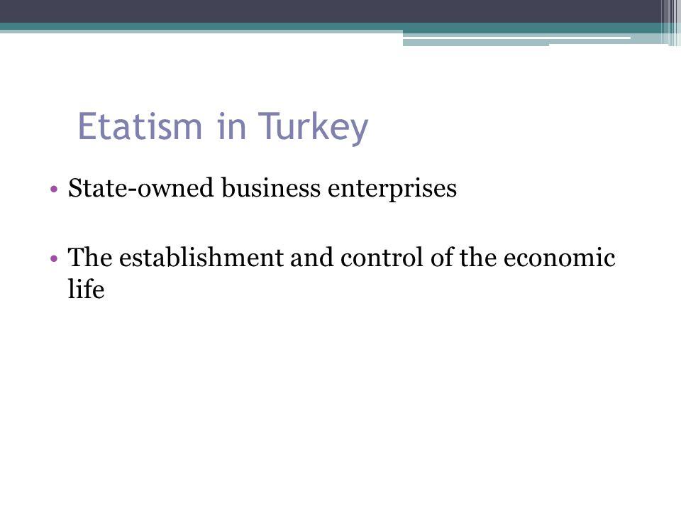 Etatism in Turkey 1932: The Soviet Committee headed by Prof.