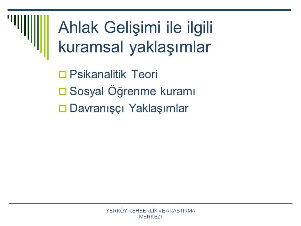 Kaynaklar  Çağdaş, A., Seçer, Z (2002).