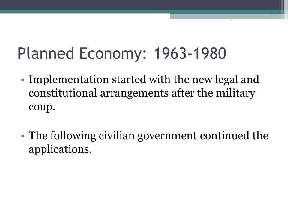 Development Plans I. BYKP: 1963-1967 II. BYKP: 1968-1972 III. BYKP: 1973-1977 IV. BYKP: 1979-1983
