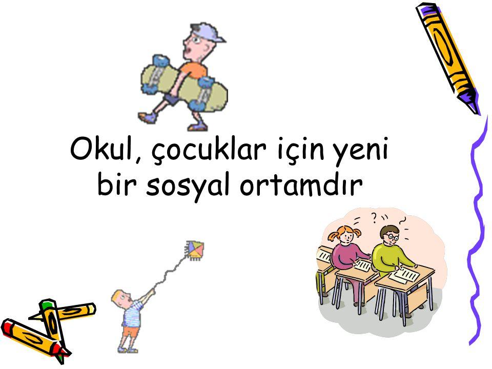 Öğretmenin verdiği ödevleri veli kesinlikle yapmamalı, öğrencinin yapmasını sağlamalıdır.