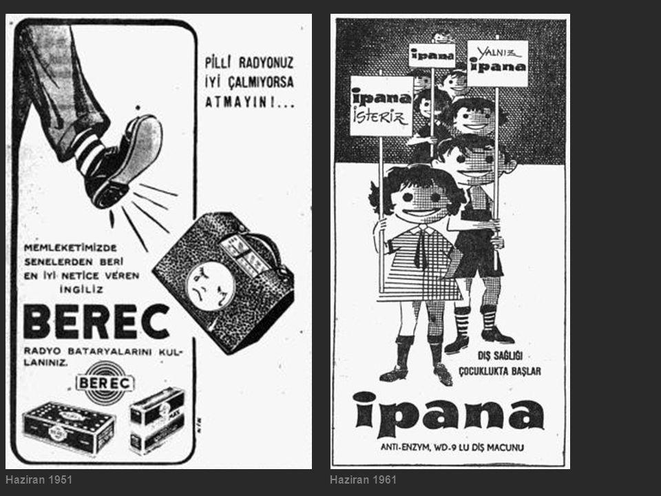 Haziran 1951Haziran 1961