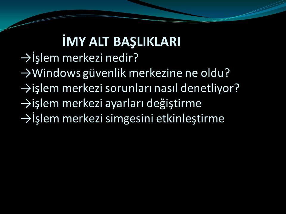 4-Açılan pencerede, Sistem simgelerini aç veya kapat bağlantısına tıklayın
