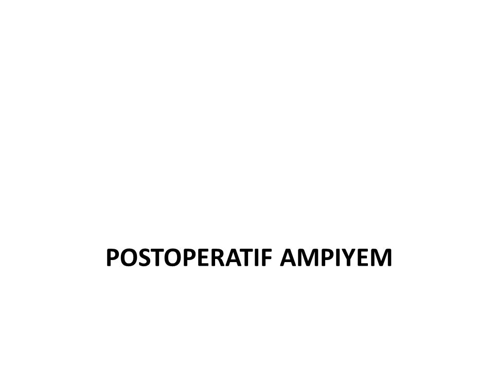 7 Plevral ampiyem insidansı Pulmonary infection 57% Postoperative 20% After trauma 6% Spontaneous px 3% Esophageal perforation 2% After thoracentesis 2% Subdiaphragmatic infection 2% Undetermined 8% Shields Ed.