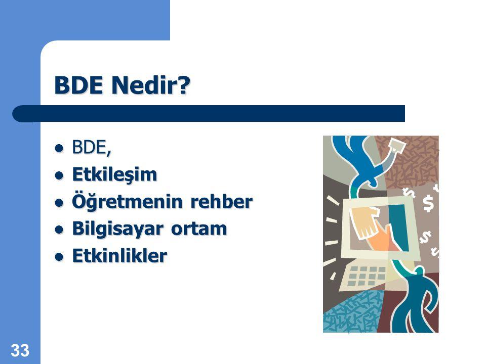 33 BDE Nedir.