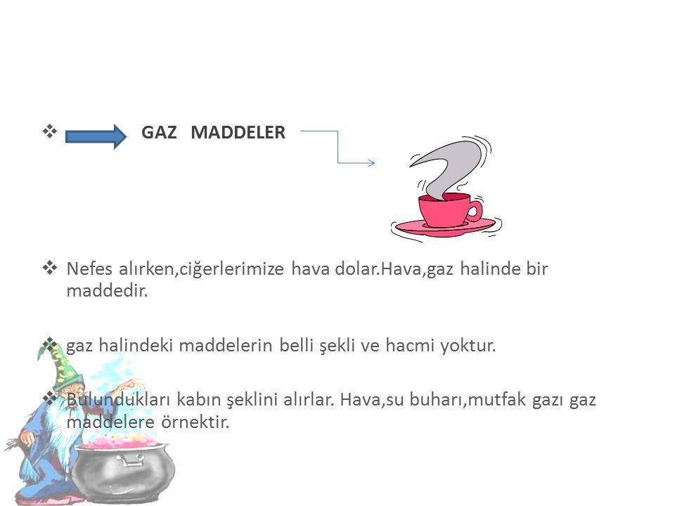 SIVI MADDELER  İçinde bulunduğu kabın şeklini alan akıcı maddelere sıvı maddeler denir.  Sıvı maddeler,akışkan özelliğe sahiptir.Sıvıların da bir kü