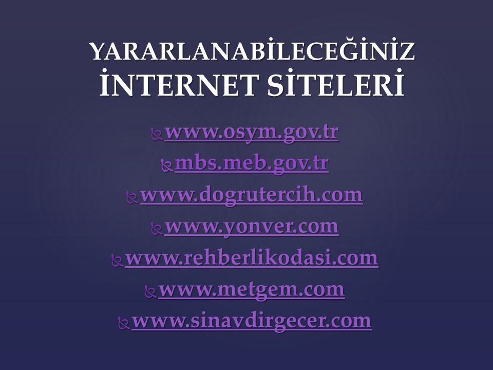  ÖNEMLİ İŞLERE ÖNCELİK VER. TV-İNTERNET-TELEFON KULLANIMINA DİKKAT.