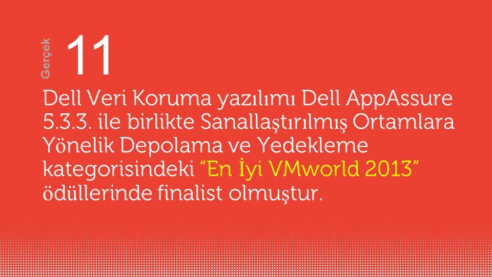 Dell Veri Koruma yaz ı l ı m ı Dell AppAssure 5.3.3.