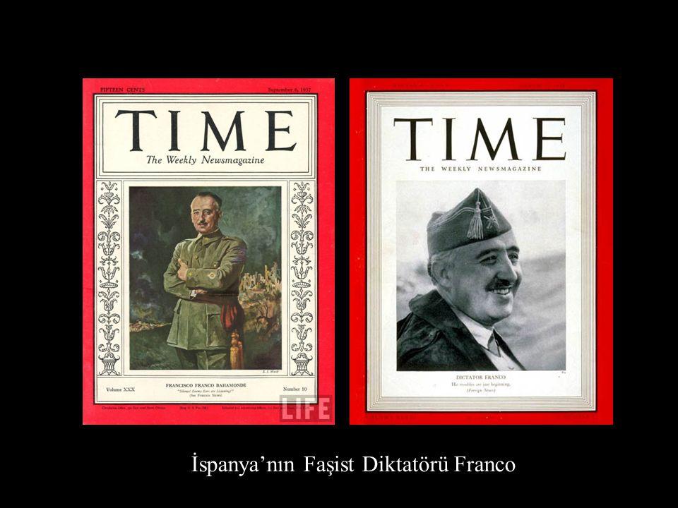 İspanya'nın Faşist Diktatörü Franco