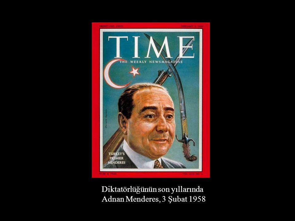 Diktatörlüğünün son yıllarında Adnan Menderes, 3 Şubat 1958