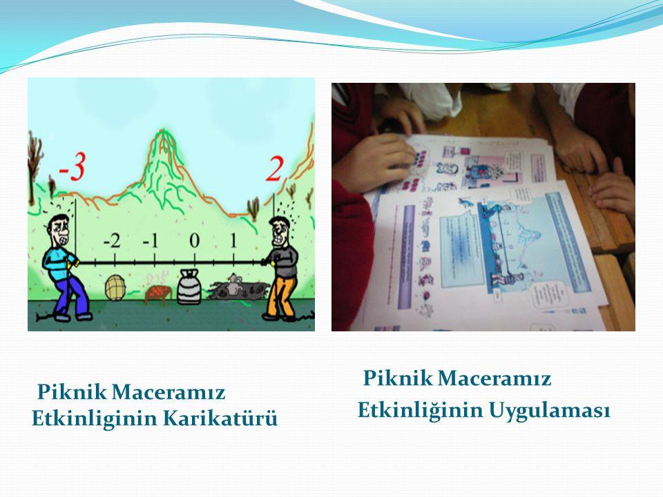 Piknik Maceramız Etkinliginin Karikatürü Piknik Maceramız Etkinliğinin Uygulaması