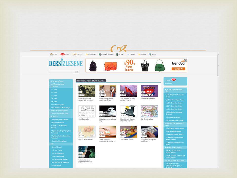  Ücretsiz bilgi sunuyor ve oldukça faydalı bir site.