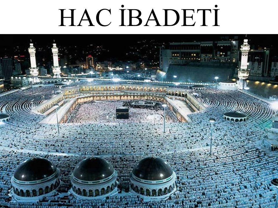 Hac, yılın belirli günlerinde dinimizce önemli sayılan Kâbe, Arafat ve çevresindeki kutsal yerleri usulüne uygun olarak ziyaret etmek ve buralarda yapılması gereken dinî görevleri yerine getirmektir.
