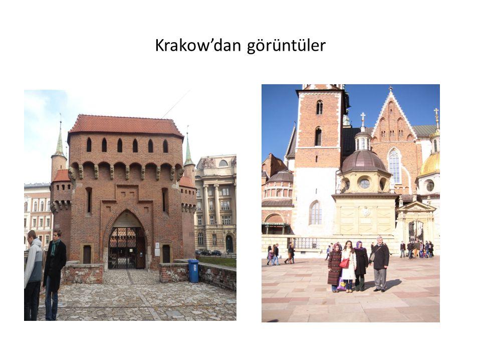 Krakow'dan görüntüler