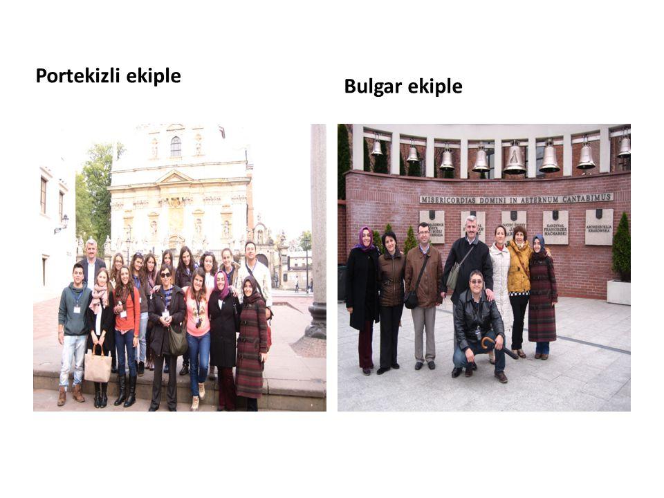 Portekizli ekiple Bulgar ekiple