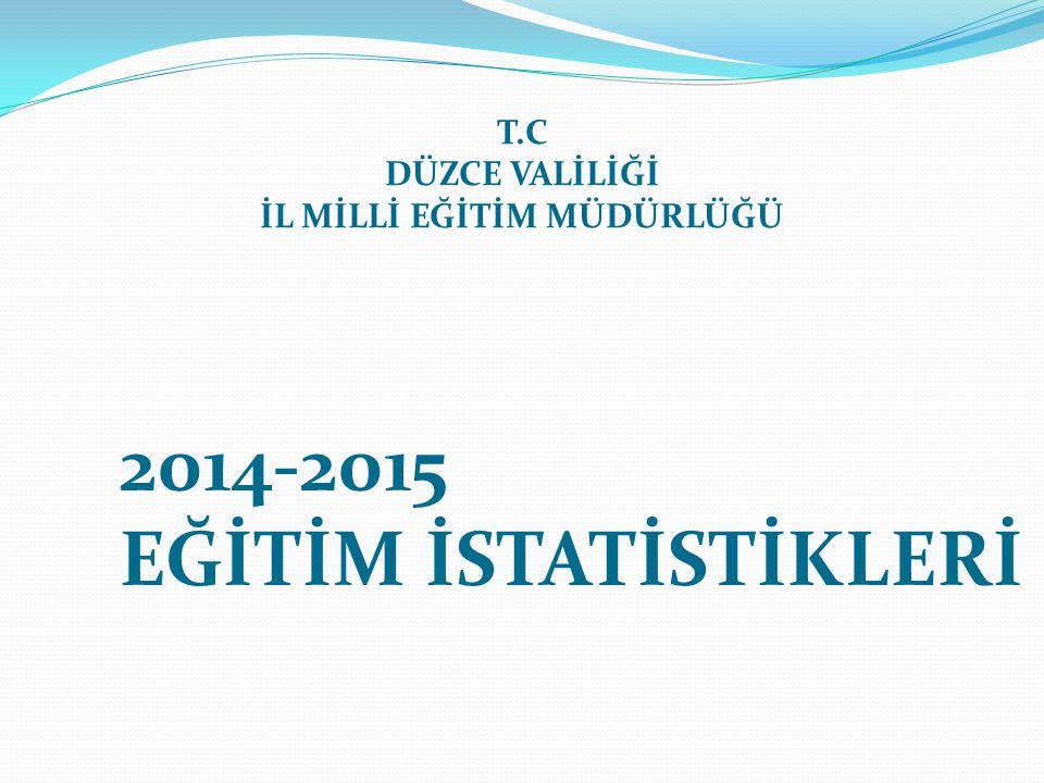 2014-2015 Öğretim yılı veri giriş işlemleri her yıl olduğu gibi 1 Ekim 2014 Çarşamba günü başlayıp, 14 Kasım 2014 Cuma günü tamamlanmış olacaktır.