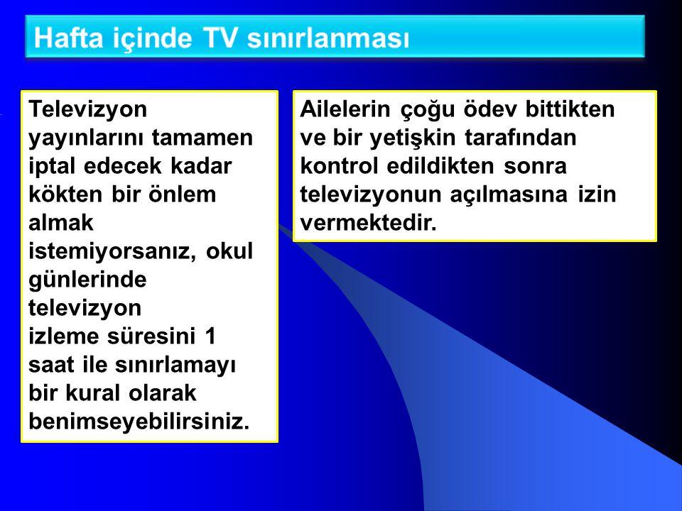 21.04.2015 10 Televizyon İzlerken Nelere Dikkat Etmek Gerekir.