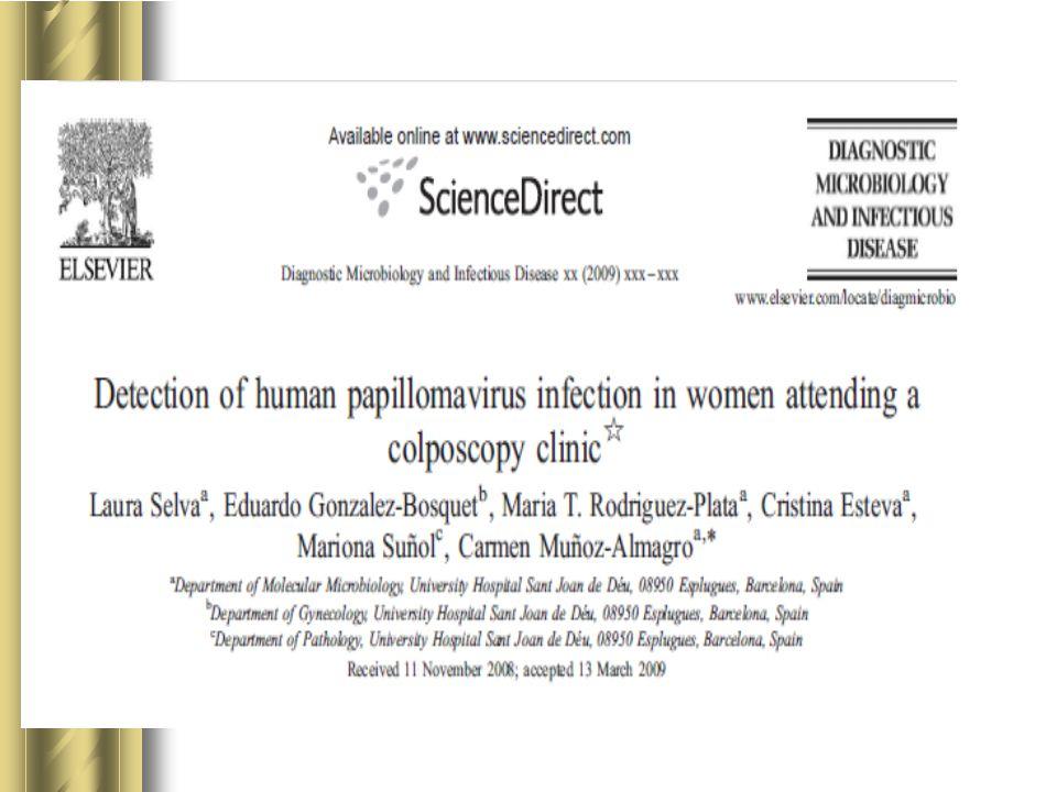 Bu çalışmada HGSIL olan hastalarda yüksek riskli HPV prevalansı 91.3% bulunmuştur.