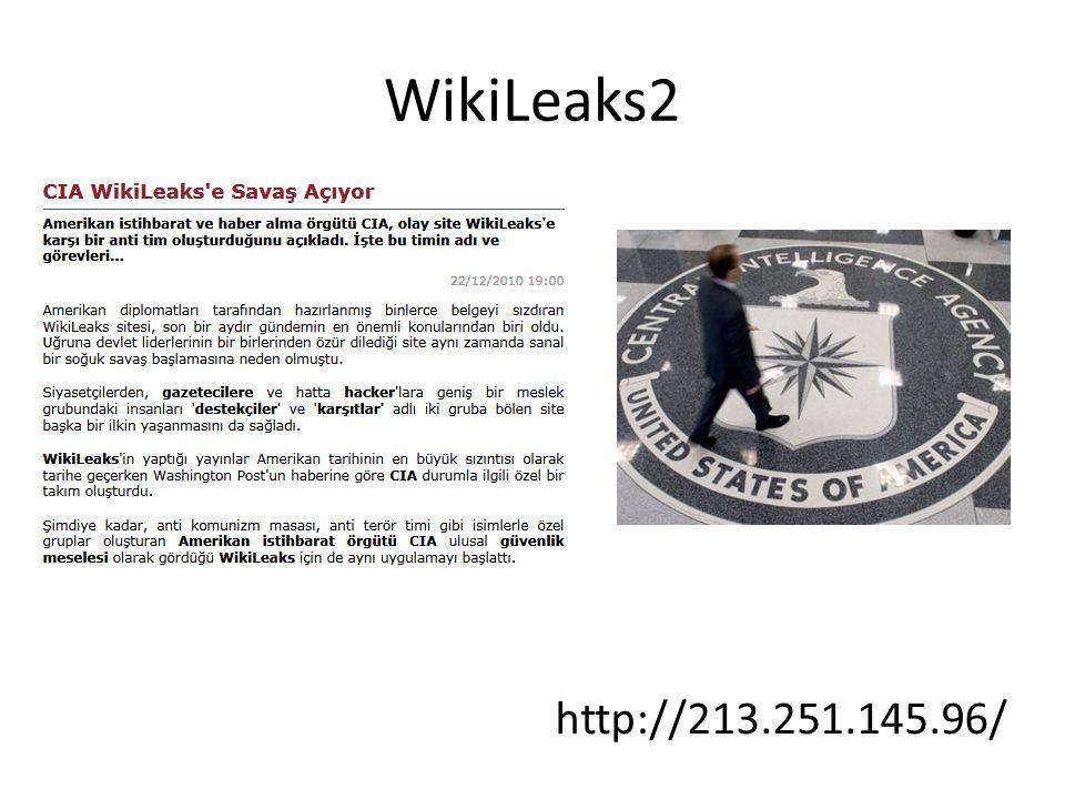 WikiLeaks2 http://213.251.145.96/