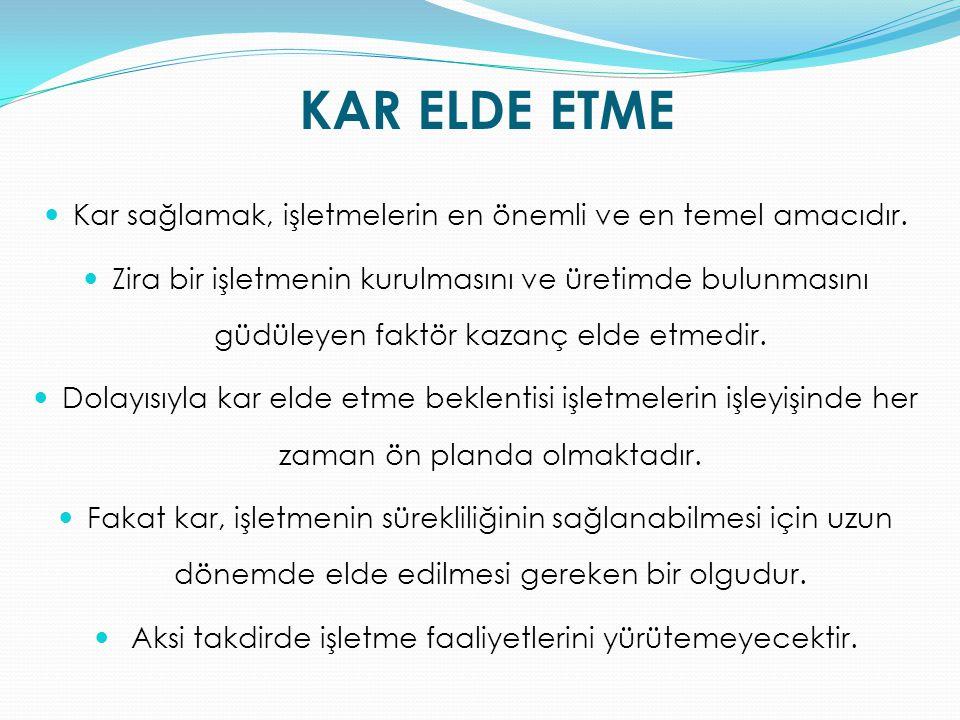 İŞLETME MÜDÜRÜ MADDE 12.