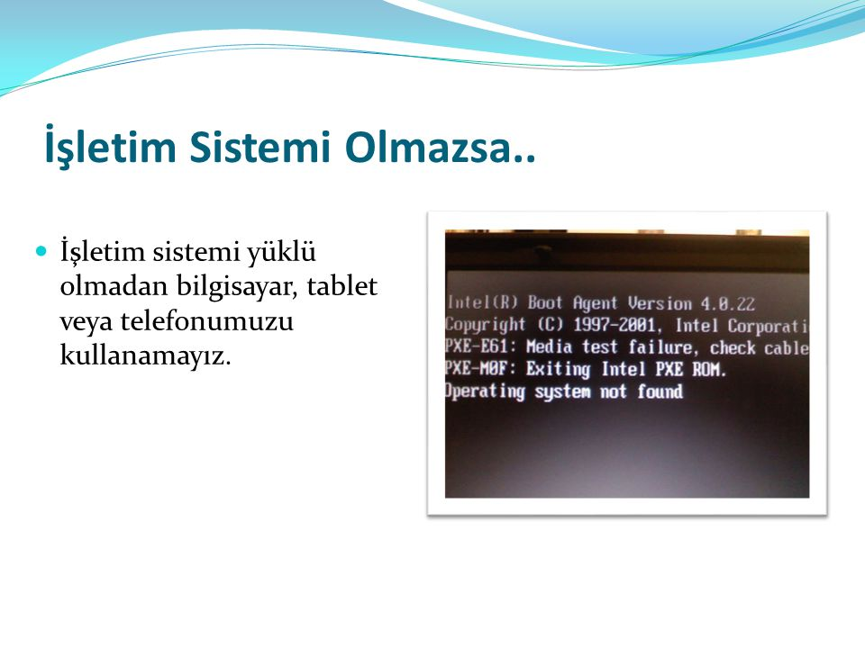 İşletim Sistemi Nerelerde Kullanılır.
