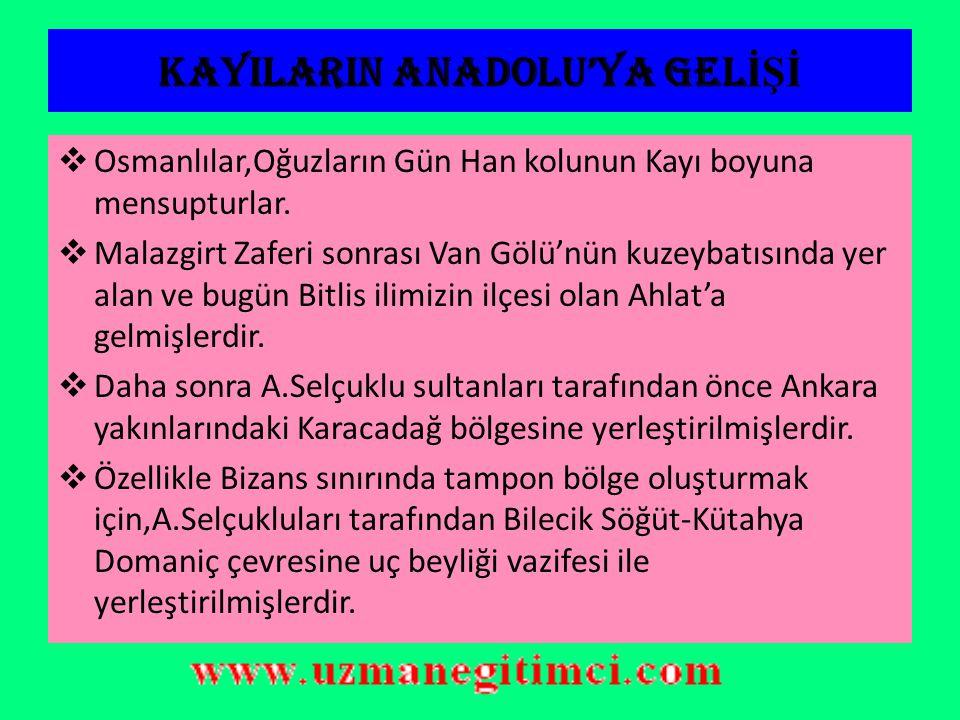 Osmanl ı Devleti'nin Genel Özellikleri a)Birden fazla millet bünyesinde olduğu için çok ulusludur.