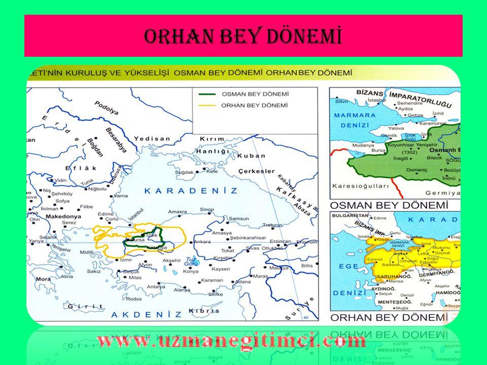 Orhan Bey Dönemi Devlet Te ş kilatlanmas ı Osmanlı Devletinde ilk kez divan teşkilatı kurulmuştur.